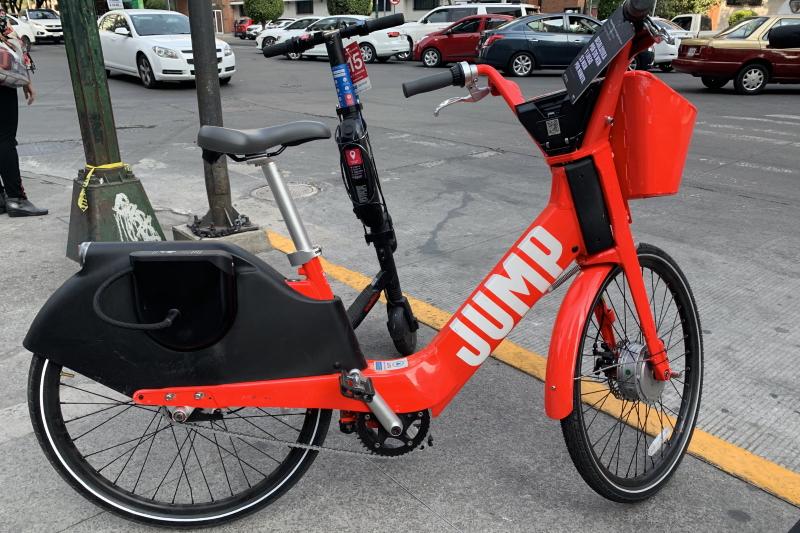 Fotografía de bicicleta eléctrica Jump