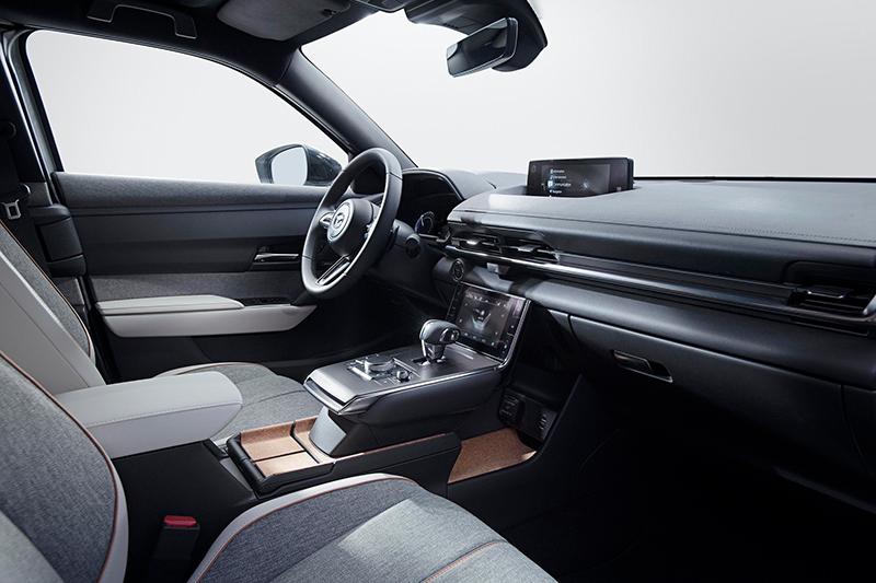 Fotografía del interior del Mazda MX-30