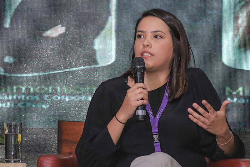 Fotografía de Michelle González, coordinadora de comunicaciones de BEAT